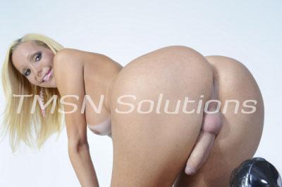 Bent over nude TS Alexus shows off her cock