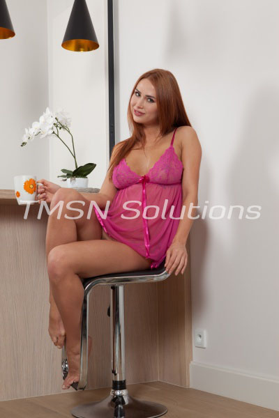 Red Head In Pink Lingerie Marrying A Sissy